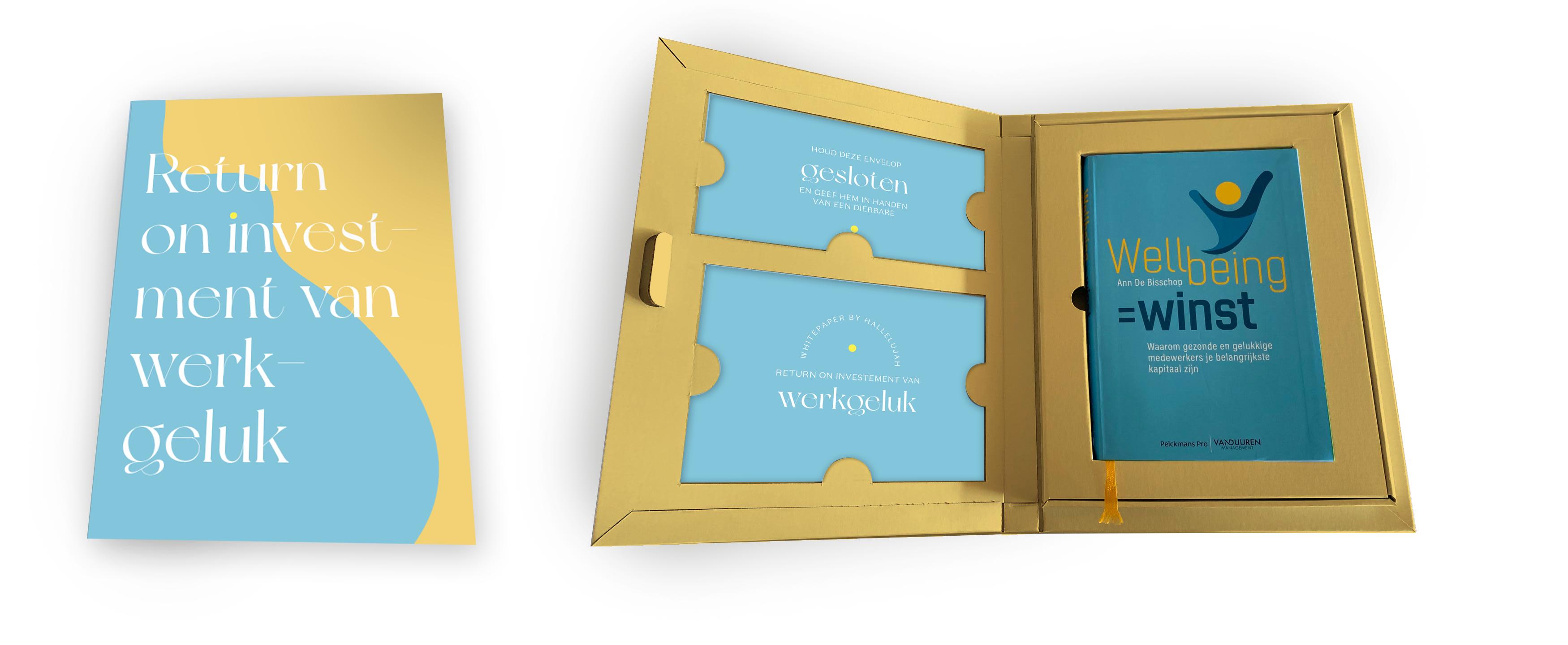 Mock-up wellbeing boek